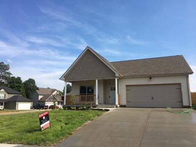 Christian County, Ky, Todd County, Ky, Montgomery County Single Family Home For Sale: 138 Magnolia Place