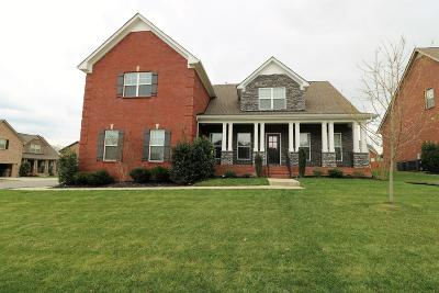 Gallatin Single Family Home For Sale: 801 Fanning Ct