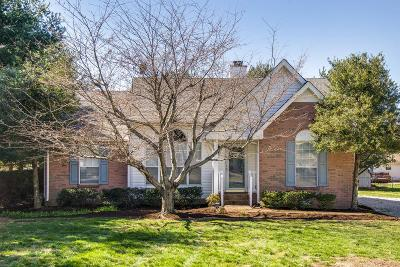 White House Single Family Home Under Contract - Showing: 102 Bridlewood Ct