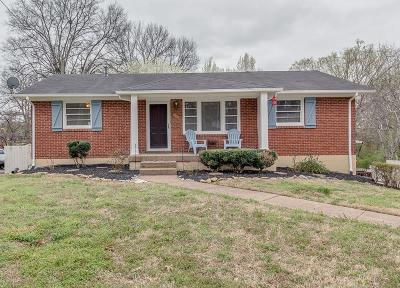 Nashville Single Family Home Under Contract - Showing: 6227 Henry Ford Dr