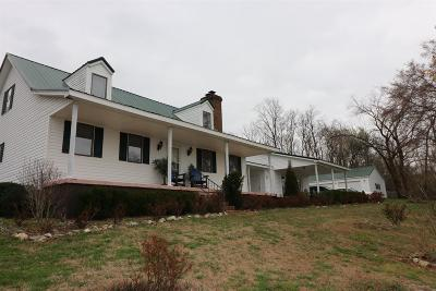 Columbia Single Family Home For Sale: 881 Mount Olivet Rd