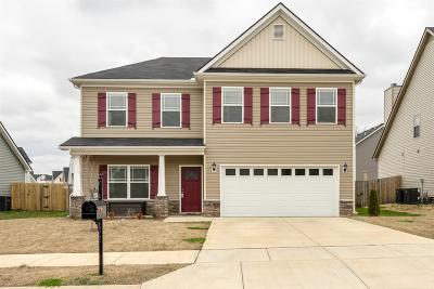 Spring Hill  Single Family Home Under Contract - Showing: 2138 Longhunter Chase Dr