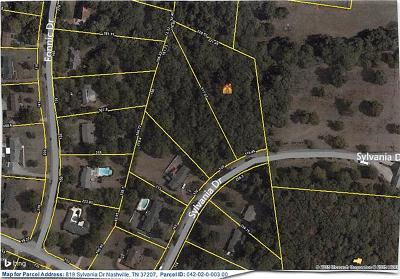 Nashville Residential Lots & Land For Sale: 819 Sylvania Drive
