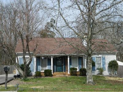 Mount Juliet Single Family Home Under Contract - Showing: 1033 Rolling Meadow Dr