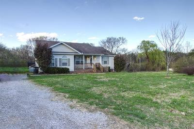 Lewisburg Single Family Home For Sale: 1396 Wiles Ln