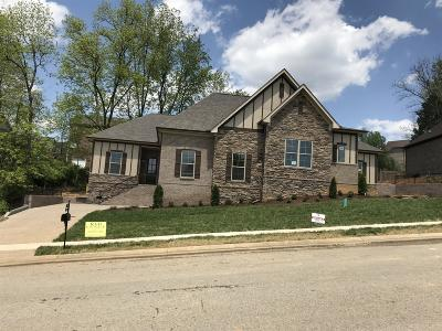 Hendersonville Single Family Home Under Contract - Showing: 160 Cobbler Cir #92