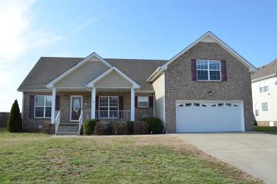 Clarksville Single Family Home For Sale: 874 Samantha Ln