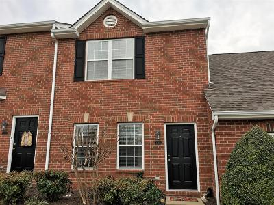 Franklin Condo/Townhouse Under Contract - Showing: 1101 Downs Blvd Apt A103