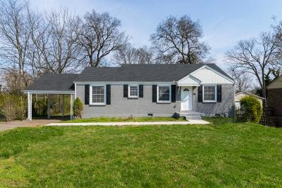Nashville Single Family Home Under Contract - Showing: 2201 Ridgecrest Dr