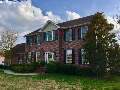 Spring Hill Single Family Home For Sale: 1511 Chapman Ln