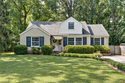 Nashville Single Family Home For Sale: 3811 Dartmouth Ave