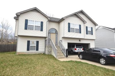 Clarksville TN Single Family Home For Sale: $168,900