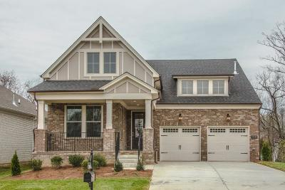 Mount Juliet Single Family Home For Sale: 3042 Elliott Drive #69