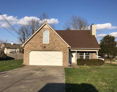 Lavergne Single Family Home Under Contract - Showing: 709 Brook Valley Dr