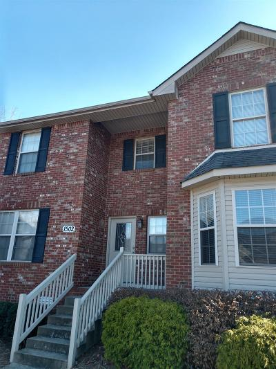 Clarksville Condo/Townhouse For Sale: 135 Excell Rd #1502