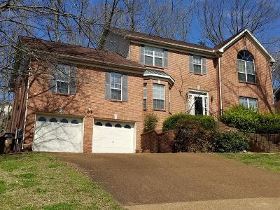 Goodlettsville Single Family Home For Sale: 416 Chickasaw Trl