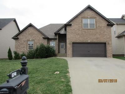 Christian County, Ky, Todd County, Ky, Montgomery County Single Family Home Under Contract - Showing: 1821 Apache Way