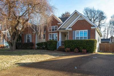 Spring Hill  Single Family Home Under Contract - Showing: 2820 Scoville Ln