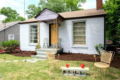 Nashville Single Family Home For Sale: 927 Douglas Ave