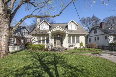 Single Family Home Under Contract - Showing: 3015 Brightwood Ave
