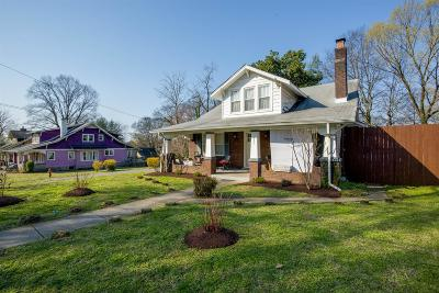 Nashville Single Family Home For Sale: 301 Chapel Ave
