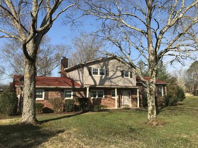 Murfreesboro Single Family Home For Sale: 3866 Manchester Pike