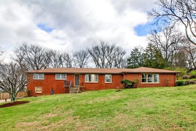 Nashville Single Family Home For Sale: 5104 Leath Dr