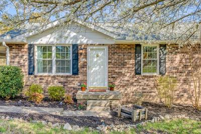 Mount Juliet Single Family Home Under Contract - Showing: 51 Spring Hill Rd