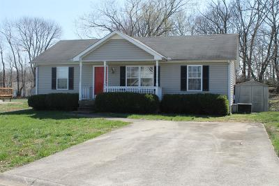Clarksville Single Family Home Under Contract - Showing: 917 Crabapple Ln