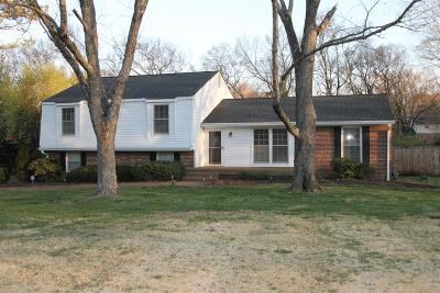Brentwood  Single Family Home Under Contract - Showing: 8202 Spring Valley Drive
