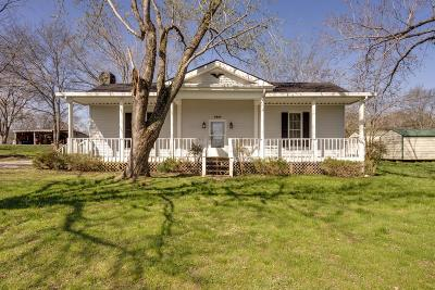 Lewisburg Single Family Home For Sale: 2468 Verona Caney Rd