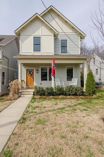 East Nashville Single Family Home Under Contract - Showing: 401 C N 17th St