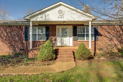 Lewisburg Single Family Home Under Contract - Showing: 3127 Rich Dr