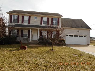 Clarksville Single Family Home Under Contract - Showing: 1229 Shorehaven Dr.