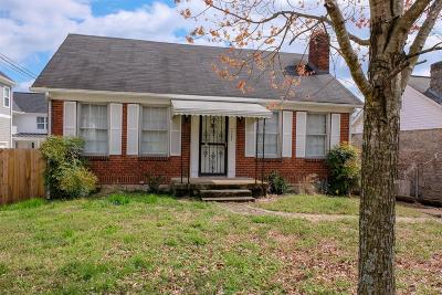 East Nashville Single Family Home Active - Showing: 2408 A Inga St
