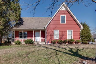 Rutherford County Single Family Home Under Contract - Showing: 2215 Leeds Ct