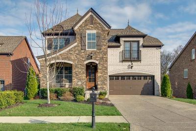 Gallatin Single Family Home For Sale: 1223 Overton Cir