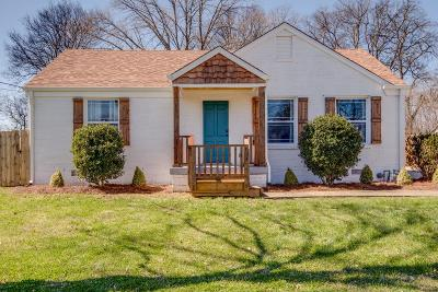 Nashville Single Family Home For Sale: 2409 Milton Dr