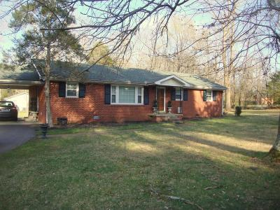 Rutherford County Single Family Home For Sale: 614 Lillard Rd