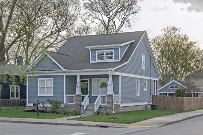 Nashville Single Family Home For Sale: 620 Stockell St