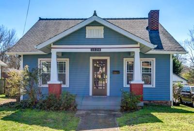 Nashville Single Family Home Under Contract - Showing: 1524 Douglas Ave