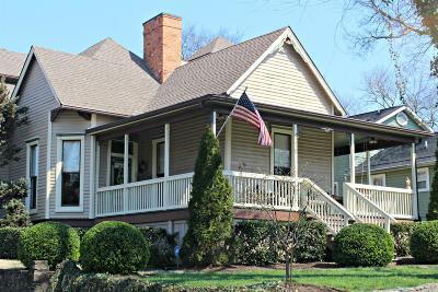 Sylvan Park Single Family Home For Sale: 4210 Elkins Ave