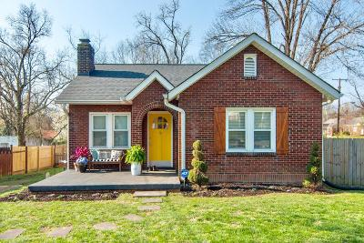 Nashville Single Family Home Under Contract - Showing: 902 Carolyn Avenue