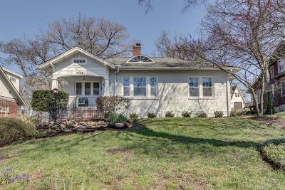 Nashville Single Family Home Under Contract - Showing: 2618 Essex Pl