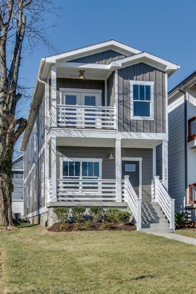 Nashville Single Family Home For Sale: 2905 Bronte Ave