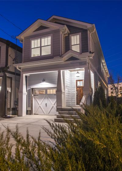 Nashville Single Family Home Under Contract - Showing: 5508 A New York Ave