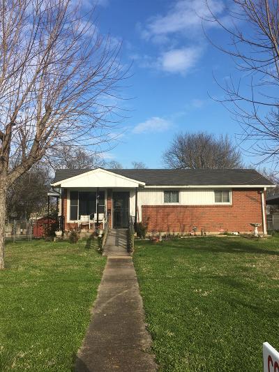 Nashville Single Family Home For Sale: 403 S 10th St
