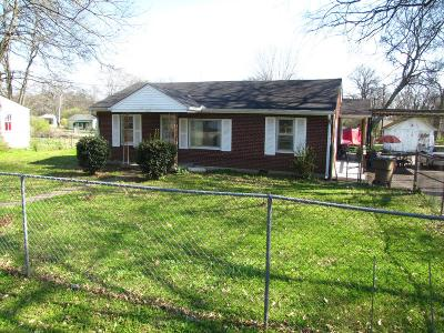 Nashville Single Family Home For Sale: 1614 Elizabeth Rd