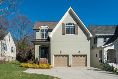 Nashville TN Single Family Home Under Contract - Showing: $879,978