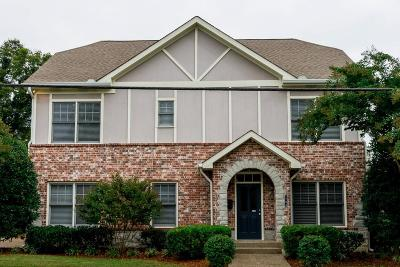 Single Family Home For Sale: 2208 Natchez Trce